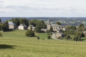 Uitzicht op Wanne, Notenkraker in de Belgische Ardennen