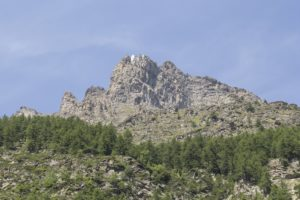 Bergwand Val di Rhemes Dagvlinders zoeken in de Aosta vallei