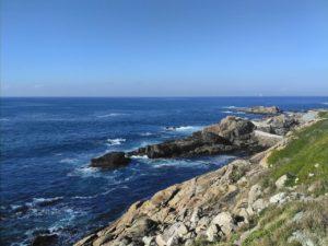 kustlijn met kliffen Spanje Estaca