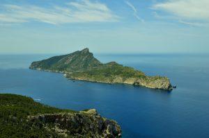 Isla Dragonera Eleonora's valk en najaarsmigratie op Mallorca
