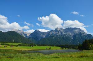 Garmisch Partenkirchen uitzicht bergen