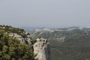 Uitzicht les Alpilles