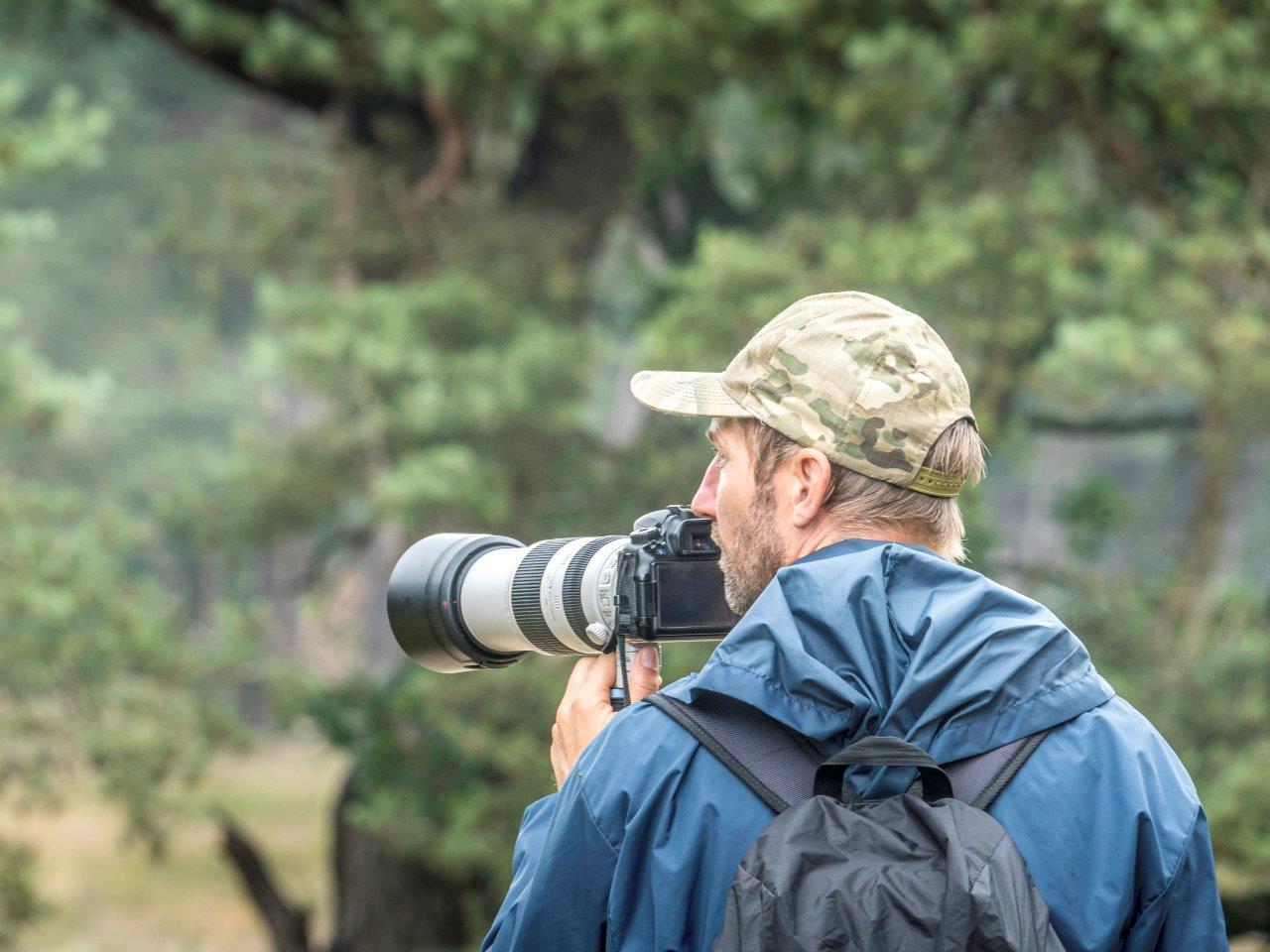 Chris de Nooijer gids en eigenaar Goldcrest Nature Tours